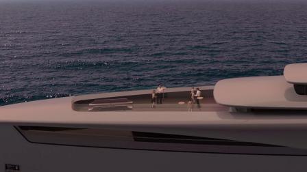 """以""""气""""为形,源自中国古代哲学的概念游艇设计理念"""
