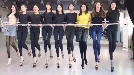 长腿超模 走秀片段