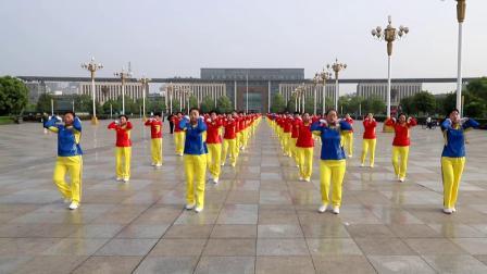 第十五套雪之舞快乐舞步健身操(分队合并版)淄博飞歌影视传媒
