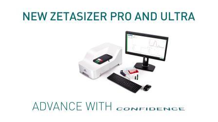 The new Zetasizer Pro and Zetasizer Ultra