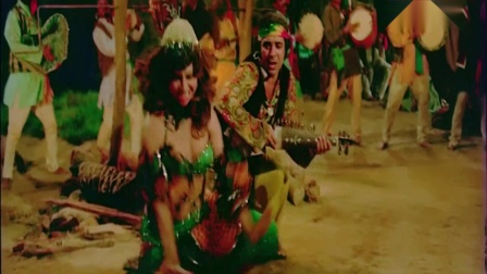 【宝莱坞怀旧】70年代经典老电影《复仇的火焰》女星 Helen 经典吉普赛风情歌舞 Mehbooba Mehbooba-Sholay