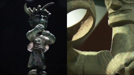 金沙小立人造型与三星堆青铜大立人一脉相承,金沙文明或许是古蜀国文明的延续