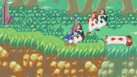 MD 游戏《米老鼠与唐老鸭:迷幻世界》游戏通关演示