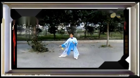 饶红太极剑组合 《重配乐--京调音乐》
