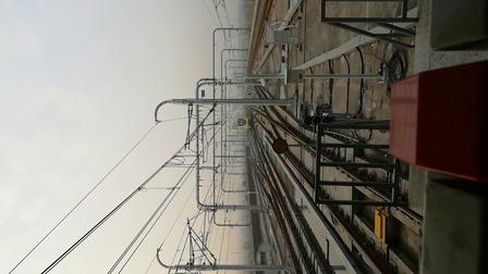南京地铁s9号线(005006)翔宇路南站折返。