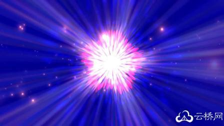 动感紫色灯光背景视频