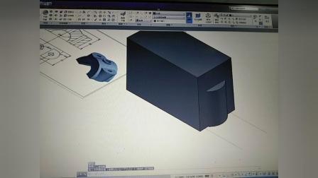CAD三维拖动建模