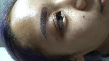 厦门半永久化妆开运仿真纹眉,半永久纹绣,哪一种做眉技术最自然,最自然的半永久定妆眉