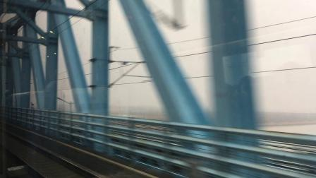 【2018.2.29】CRH380BL3533型动车组G120次通过京沪高铁线黄河大桥