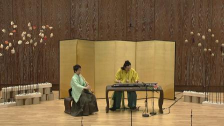 古琴名曲: 流水 (琴箫合奏) (陈道少年行台湾两厅院独奏会live版)