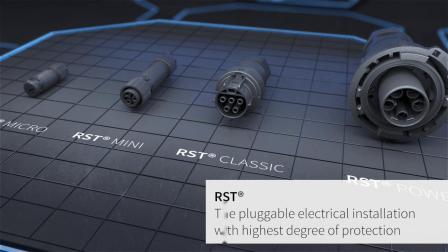 wieland德国威琅电气小型高等级户外防水连接器 RSTmicro