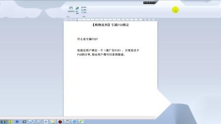 10.【购物返利】专属PID绑定介绍