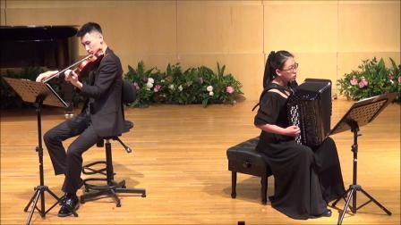 George Holloway Composer 卢长剑作曲家 Fantasia 幻想曲- 田佳男、刘洋东昇