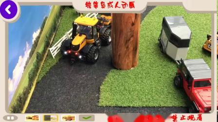 布鲁德卡车发动机故障儿童玩具动作视频