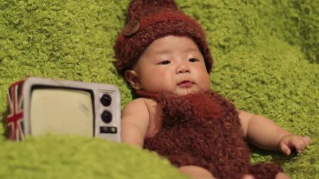 宝宝100天视频