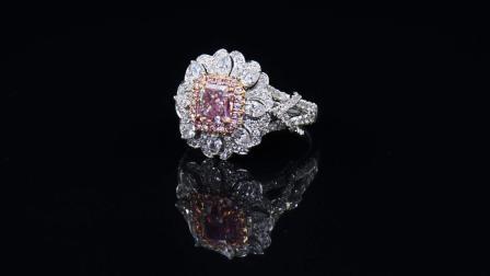 #JCRF05180326# 2.37克拉 粉钻戒指