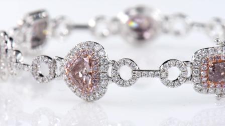 #JCBF05212588# 粉钻 钻石手链