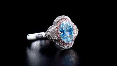 #JCRF05388317# 2.83克拉 蓝钻戒指