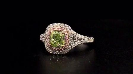 #JCRF05386279# 2.27克拉绿钻戒指