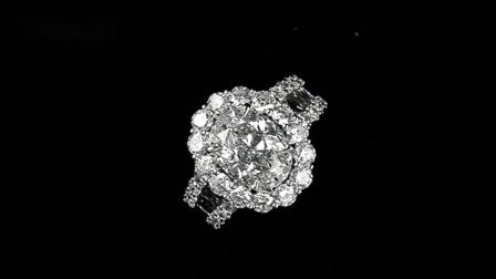#JCRW05382160# 5.16克拉白钻戒指