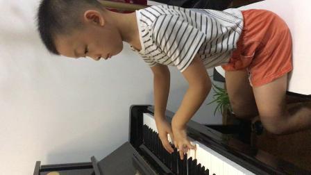 两首钢琴小品   谈骏文  8岁