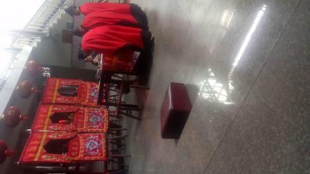 温州正一道士祈福法事。