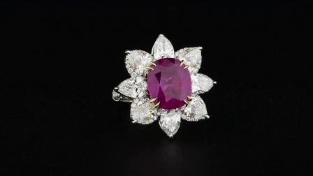 #JCRG05388863# 6.18克拉红宝石戒指