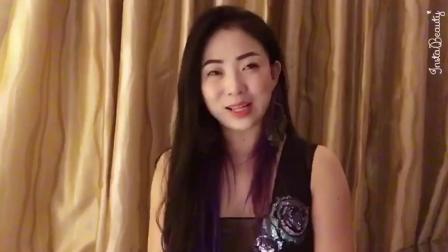 歌手韩晶祝福阿瑞演出事业越做越好