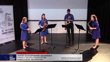 Unquartering by Sax by Marek Pavlicek - Atam Saxophone Quartet