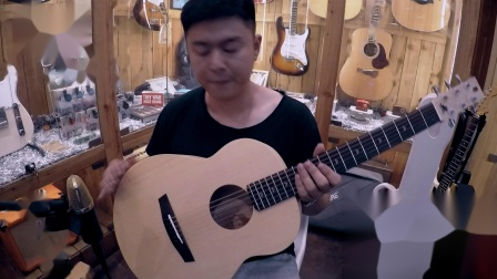 【老夏评测】 李吉他 初犊 旅行款木吉他