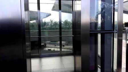 (2018.7)深圳龙城万科里Schindler观光电梯(3F-B2F-3F)