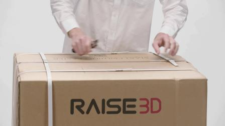 Raise3D  Pro2打印机开箱教程视频