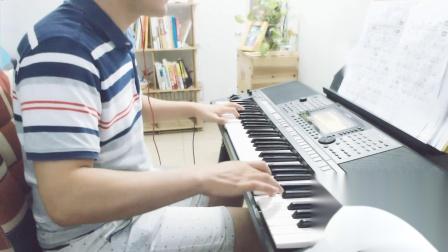 电子琴演奏-祁隆老父亲