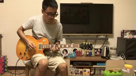 加州旅馆电吉他solo翻弹 Hotel California Cover
