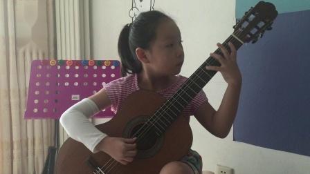 您凑合听解解闷 王诗涵古典吉他 索尔练习曲作品60号第四首 2018.8月3日
