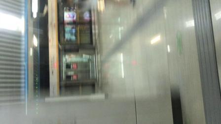 北京地铁7号线07007列车北京西站方向九龙山站-广渠门外站(内含双井站跳站通过不停车片段)
