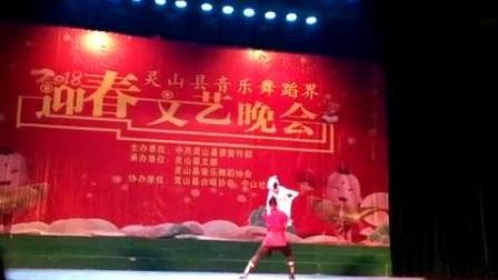 我在蒙族双人舞,舞剧《永远的马头琴》双人舞片段截了一段小视频