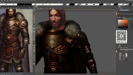 3D游戏模型绘制画笔使用4.mp4