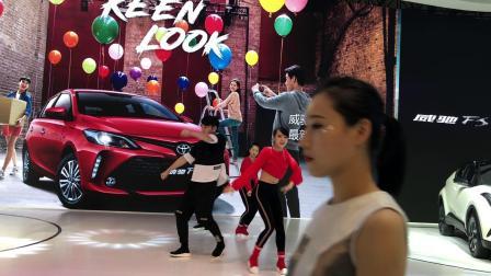 成都WILLA舞团2018年国际车展一汽丰田
