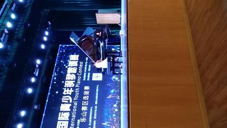 西溪小朋友参加2018亚洲国际青少年钢琴比赛现场