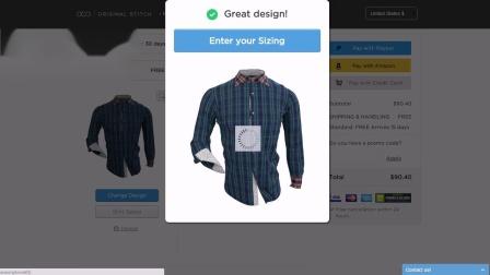 Original Stitch Shirt Design App August 2015 release