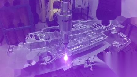 空间复杂曲线的3D激光切割