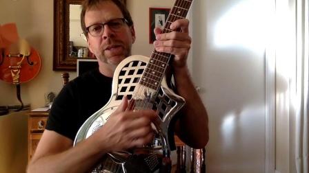 Republic Guitars丽声吉他演奏分享 Republic Highway 61 Resonator demo