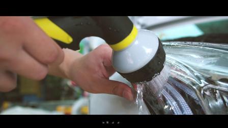 凯迪拉克-UPPF隐形车衣施工