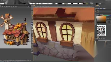 3D游戏模型场景模型制作绘制4_0