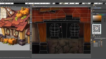 3D游戏模型场景模型制作绘制3