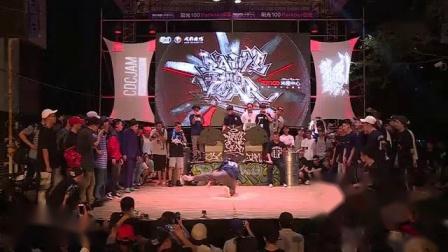 我在2【嘻哈时刻】2016BOTY世界街舞大赛-中国成都-半决赛-成都舞馆 vs STO截了一段小视频