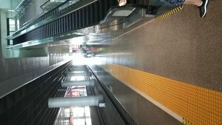 D3142次驶入杭州东站15站台