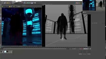 C4D用Gpu渲染器渲染一个巨人