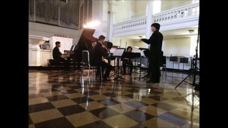 卢长剑作曲家 George Holloway Composer- 《在时间与垂直空间中的舞蹈》(五重奏版本) 18年大西洋音乐节